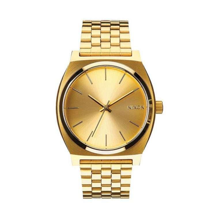 NIXON Time Teller Gold Stainless Steel Bracelet