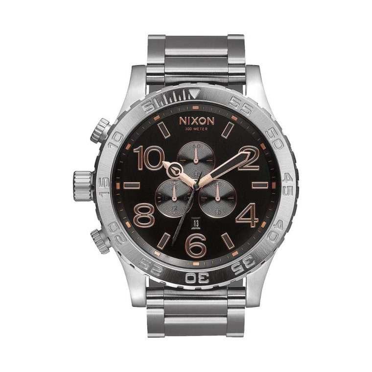 NIXON 51-30 Chrono Stainless Steel Bracelet