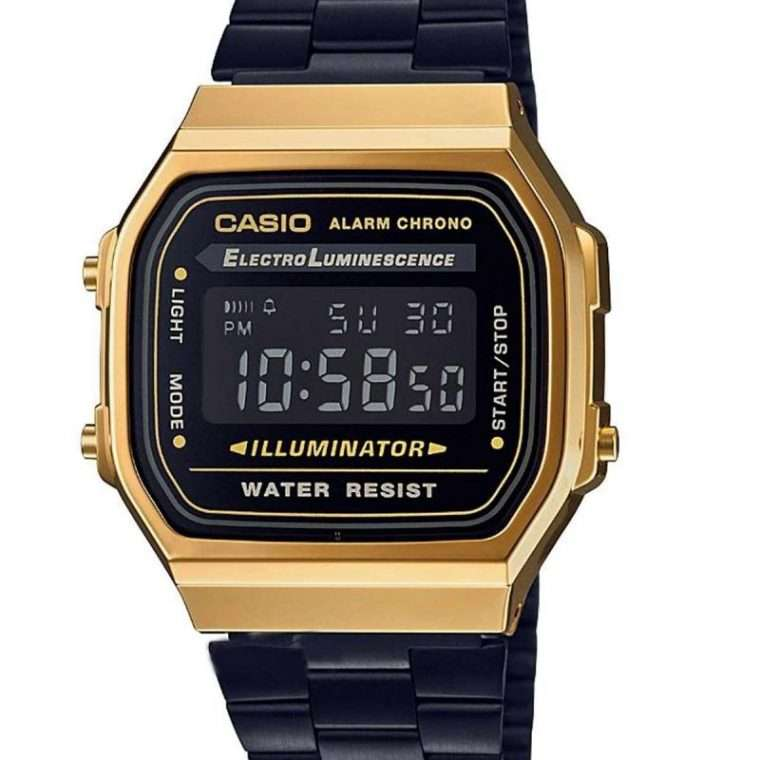 CASIO Collection Two Tone Stainless Steel Bracelet.