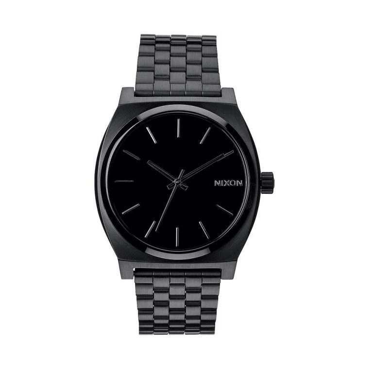 NIXON Time Teller Black Stainless Steel Bracelet