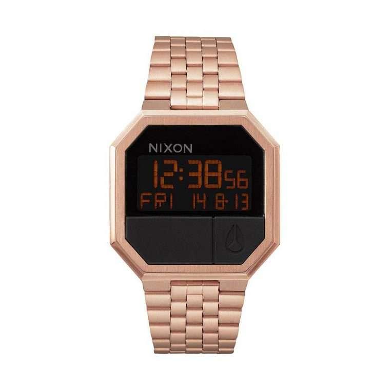 NIXON Unit Digital Rose Stainless Steel Bracelet