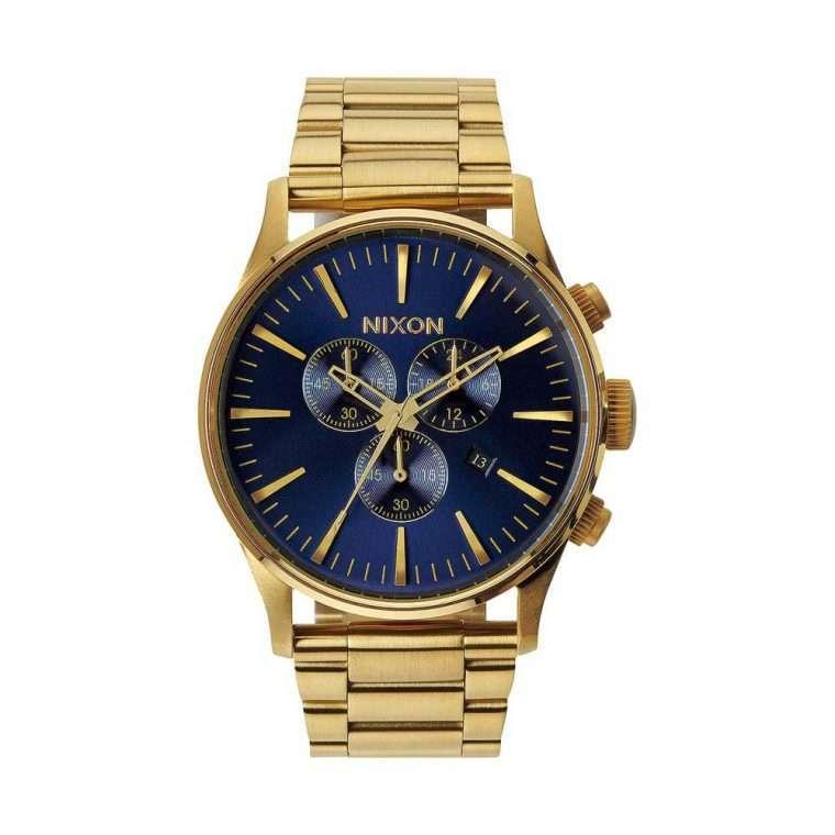 NIXON Sentry Chrono Gold Stainless Steel Bracelet