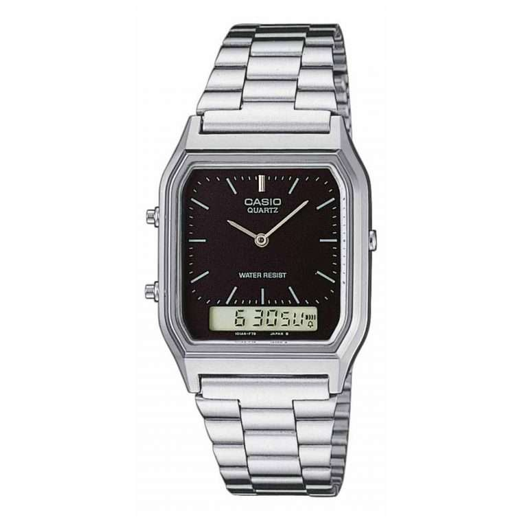CASIO Collection Digital Stainless Steel Bracelet