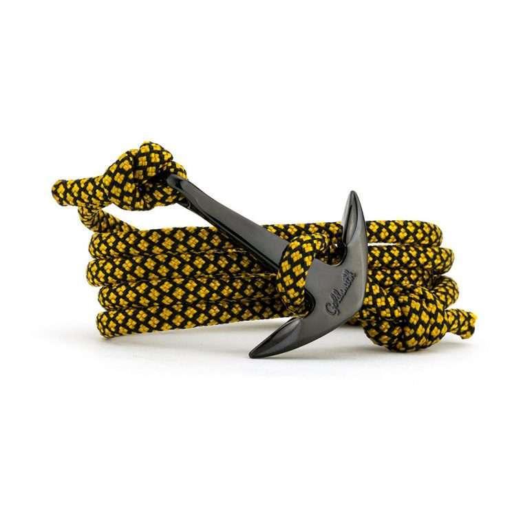 Χρυσό /  μαύρο stainless steel άγκυρα - anchor