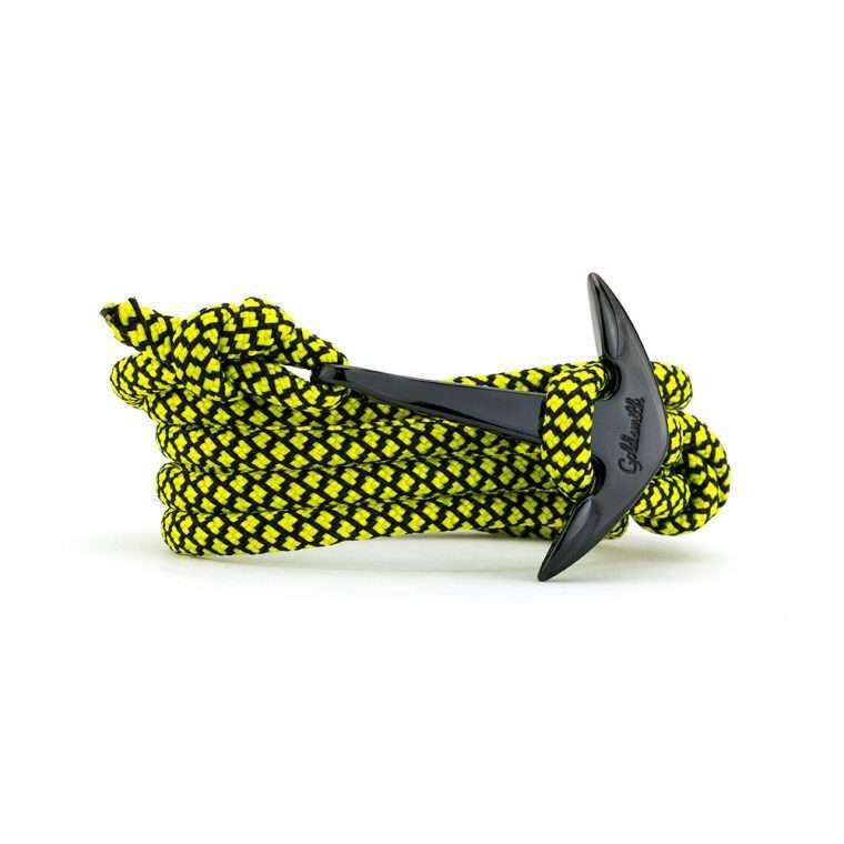 Κίτρινο μαύρο / μαύρη stainless steel άγκυρα - anchor