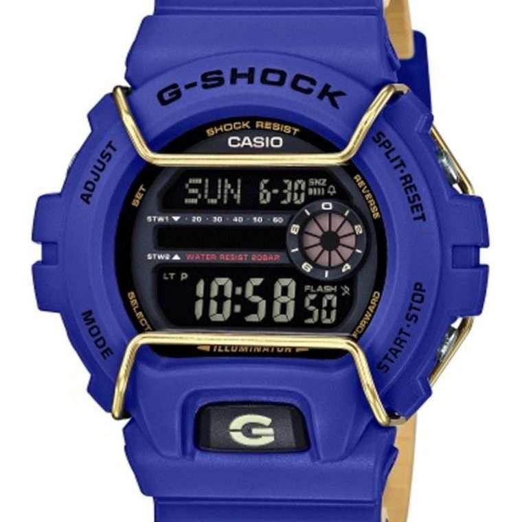 CASIO G-SCHOCK Digital Blue Rubber Strap.
