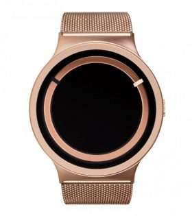 ZIIIRO Eclipse Steel Rose Gold.