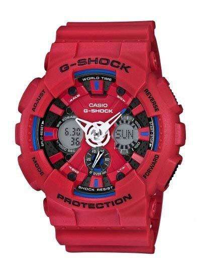 CASIO G-Shock - Red case, with Red Rubber Strap