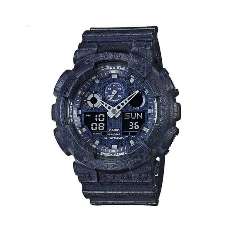 CASIO G-Shock Blue case with Blue Rubber Strap