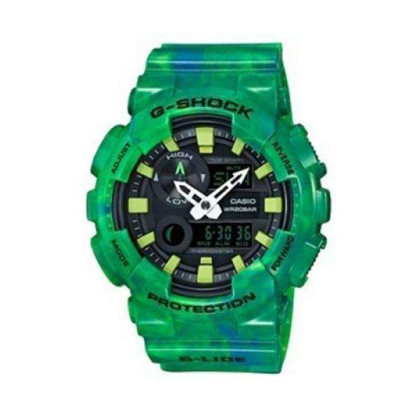 CASIO G-Shock - Green case, with Green Rubber Strap
