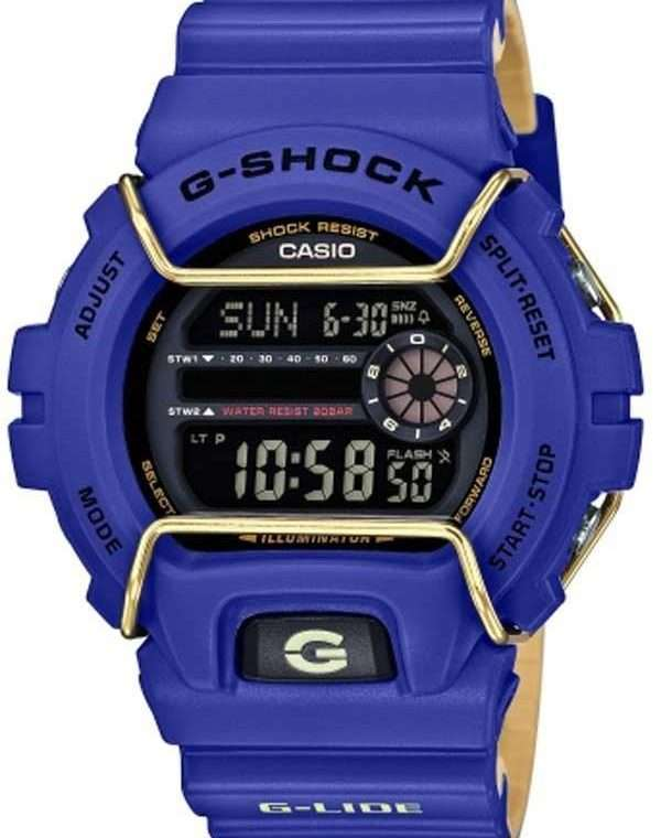 CASIO G-Shock - Blue case with Blue Rubber Strap