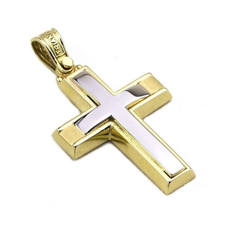 Σταυρός Τριάντος  Xρυσός  για Αγόρι 14 καρατίων No.530