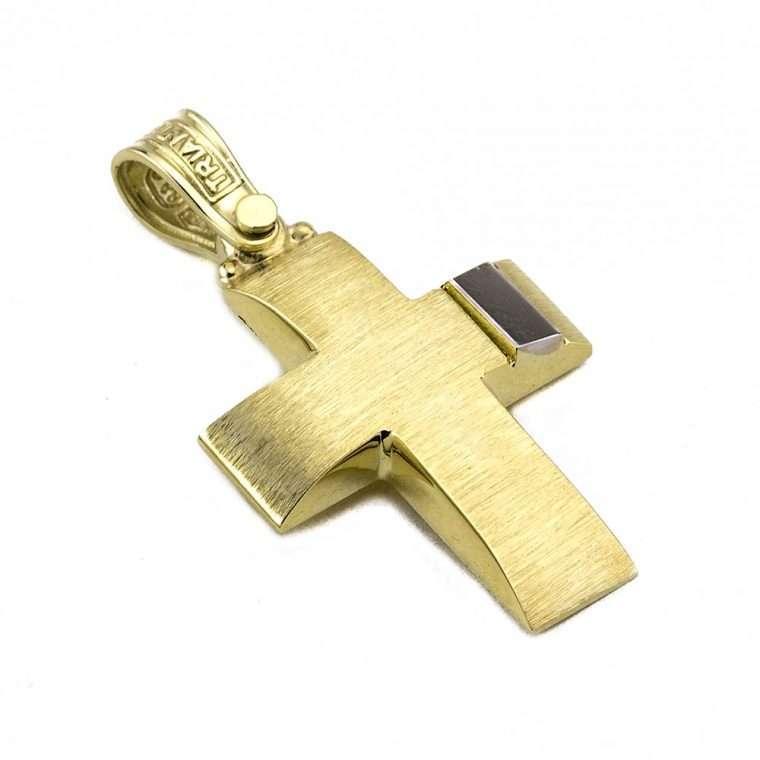 Σταυρός Τριάντος χρυσός για Αγόρι 14 καρατίων No.538