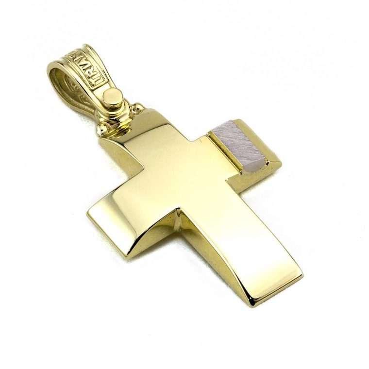 Σταυρός Τριάντος χρυσός για Αγόρι 14 καρατίων No.539