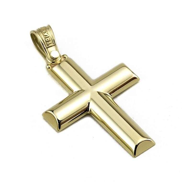Σταυρός Τριάντος χρυσός για Αγόρι 14 καρατίων No.545