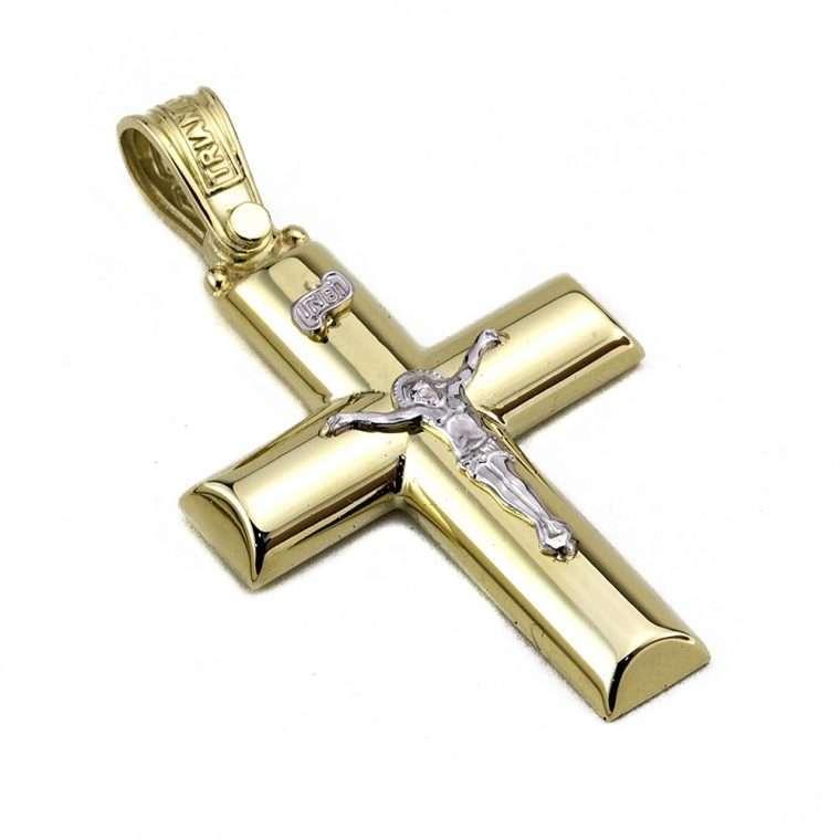 Σταυρός Τριάντος Χρυσός για Αγόρι 14 καρατίων No.553