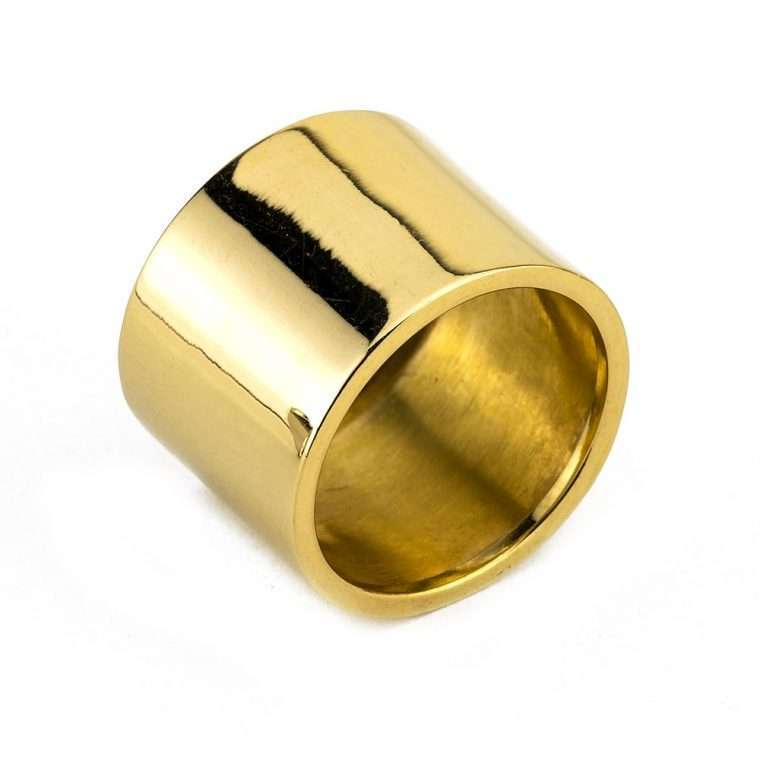 Γυναικείο Ασημένιο δαχτυλίδι σωλήνας Νο.2