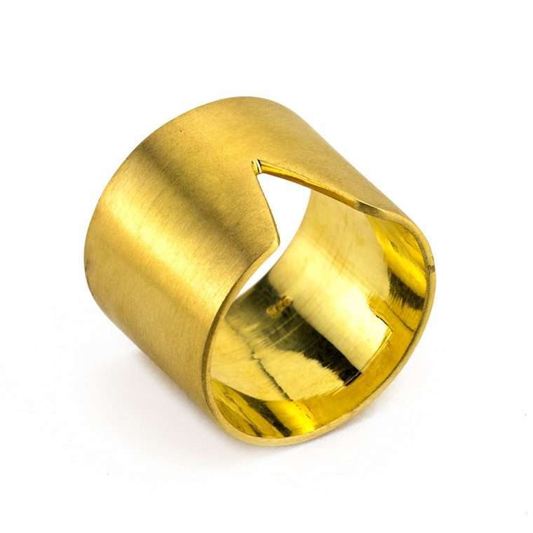 Γυναικείο Ασημένιο δαχτυλίδι σωλήνας Νο.1