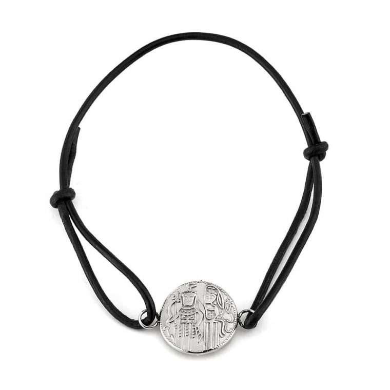 Βραχιόλι Κωνσταντινάτο signet steel σε ασημί χρώμα