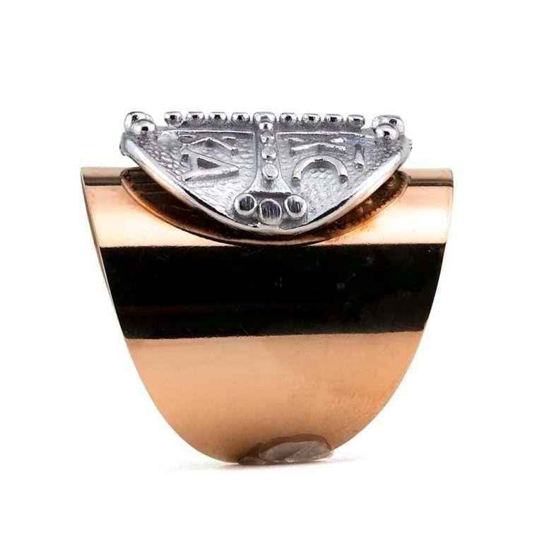 Γυναικείο Δαχτυλίδι goldsmith σωλήνας stainless steel