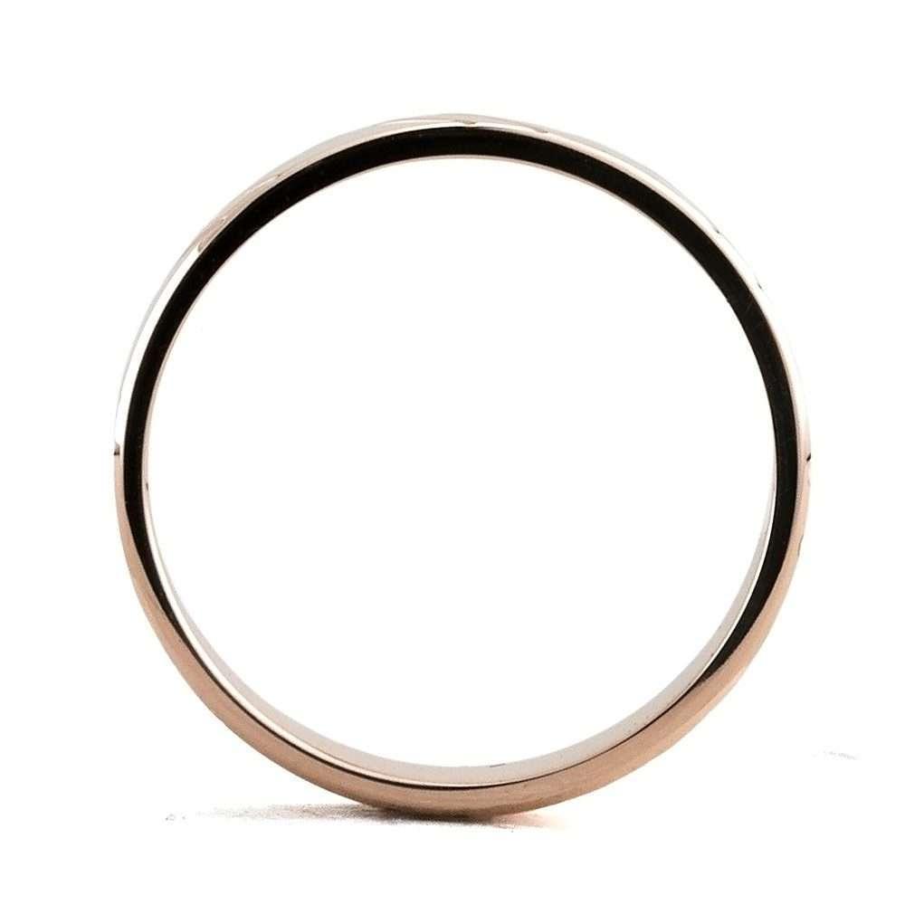 Βέρα γάμου πομπέ χρυσή Κ9 λουστρέ χιλιοστά (τιμή ανά τμχ)