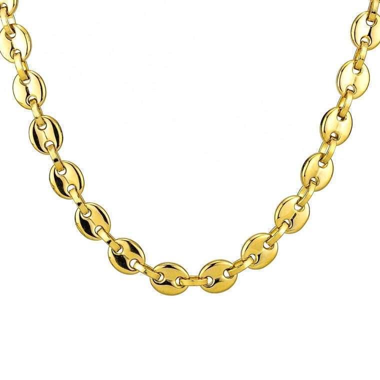 11mm Gold Stainless steel chain goldsmith g2