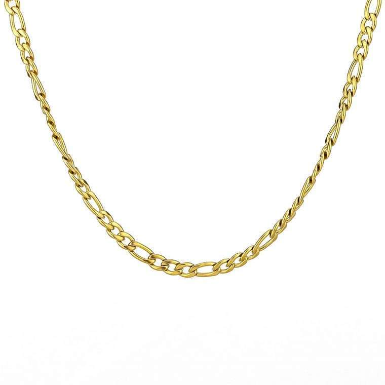 5mm Gold Stainless steel chain goldsmith g6