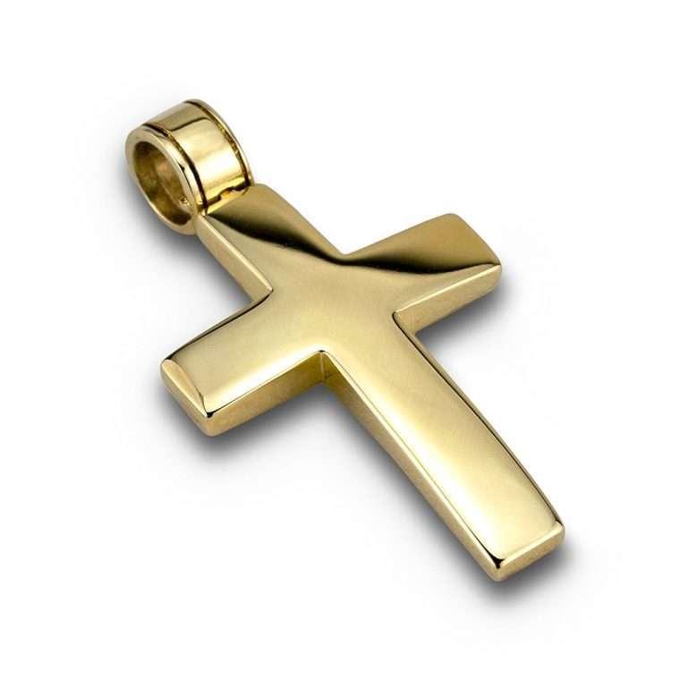 Σταυρός χρυσός 14 καρατίων No.203