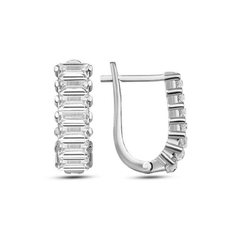 Ασημένια σκουλαρίκια κρικάκι R20
