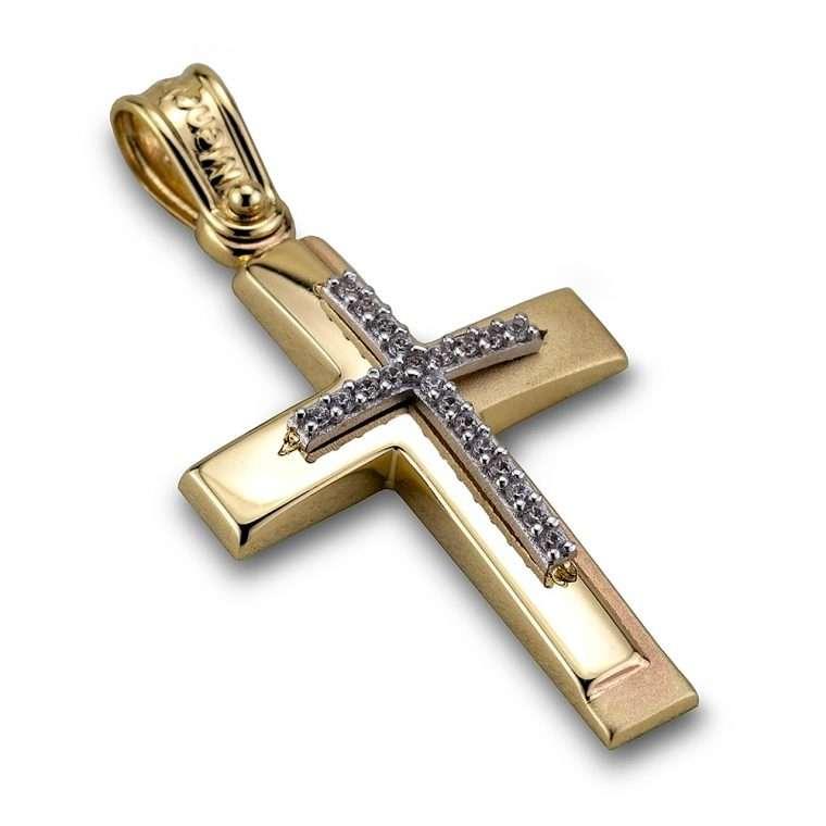 Σταυρός χρυσός 14 καρατίων, Νο. 903