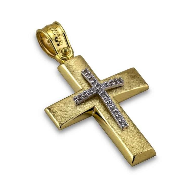 Σταυρός χρυσός 14 καρατίων, Νο. 904