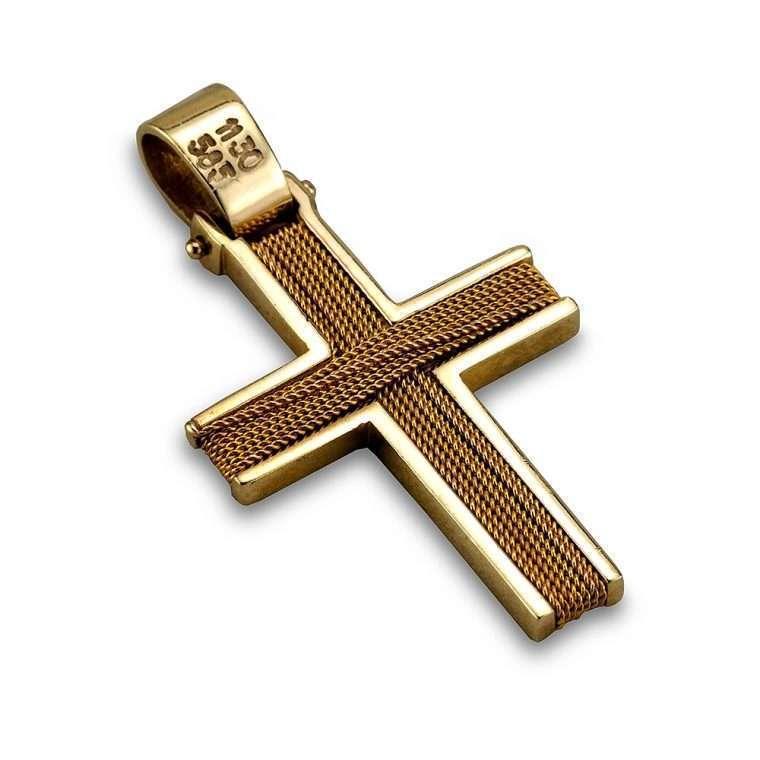 Σταυρός χρυσός 14 καρατίων, Νο. 906