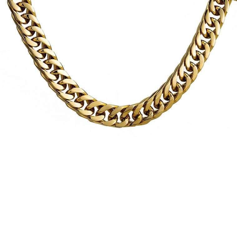 12mm Gold Cuban Chain Goldsmith G4