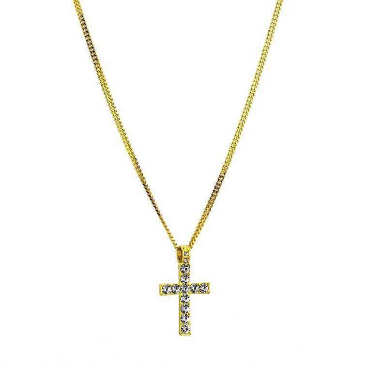 FAITH PENDANT. - WHITE GOLD