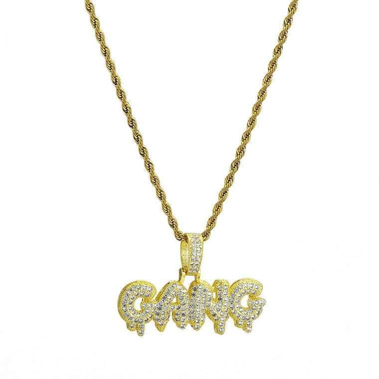 GANG PENDANT. - WHITE GOLD